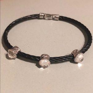 Charriol cable steel bracelet.